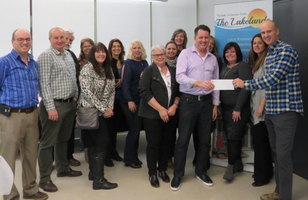 Ontario REALTORS Care®Foundation Cheque Presenation to Sharing Place Food Bank