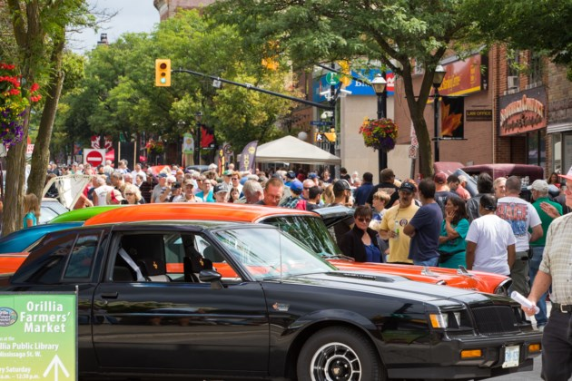 Classic Car Show Will Rumble Into Downtown Saturday OrilliaMatterscom - Market street car show