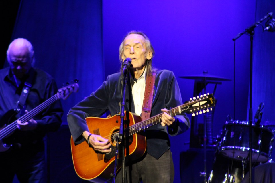 Gordon Lightfoot performs Saturday at the Orillia Opera House on his 80th birthday. Nathan Taylor/OrilliaMatters