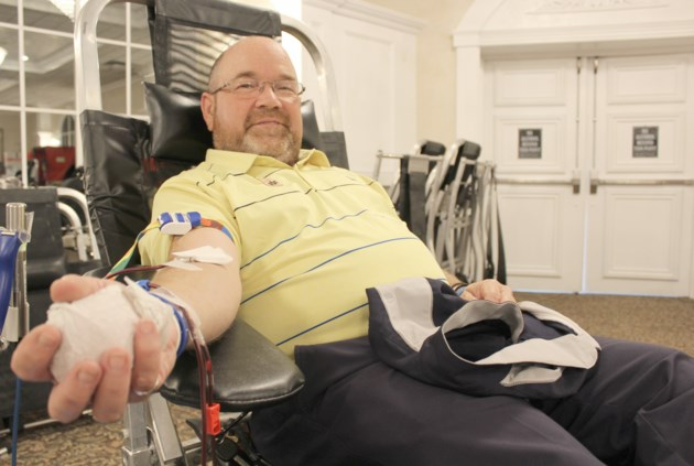 2018-10-11 Terry Smith blood donation