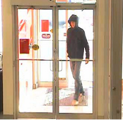 2018-01-05 Bank Robbery Suspect