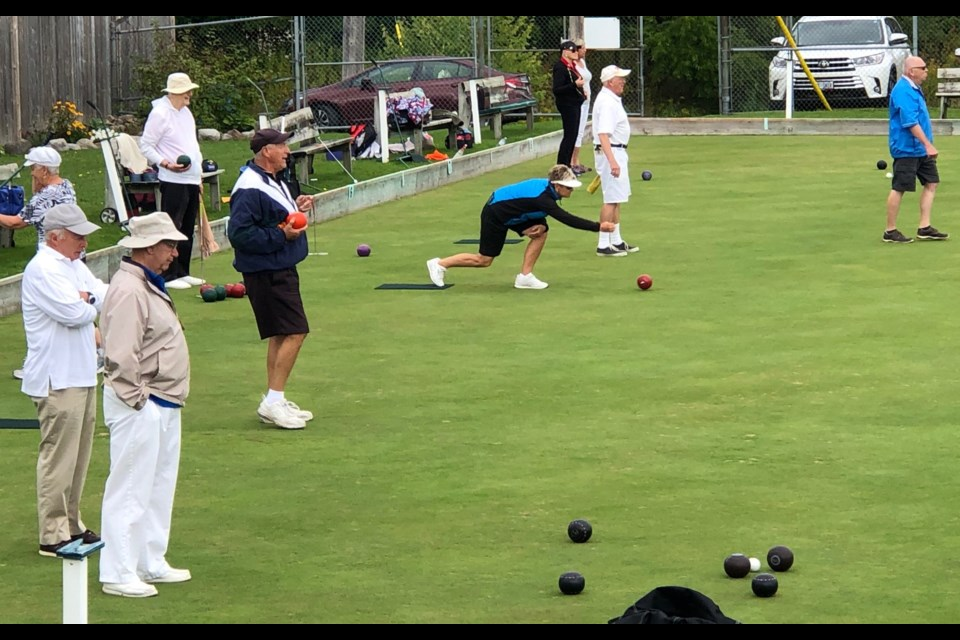 Action was fast and furious as competitors vied for the coveted Casino Rama trophy at the final tournament of the season at the Orillia Lawn Bowling Club on Commerce Road.