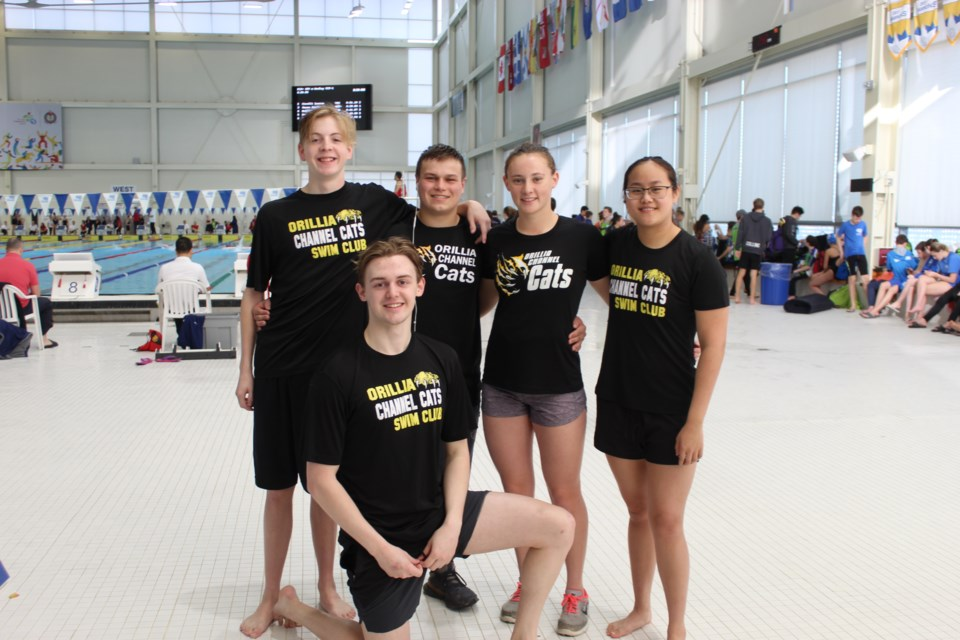 The Orillia Channel Cats competed in the Mallards Long Course Invitational in Markham. Many swam to personal bests.