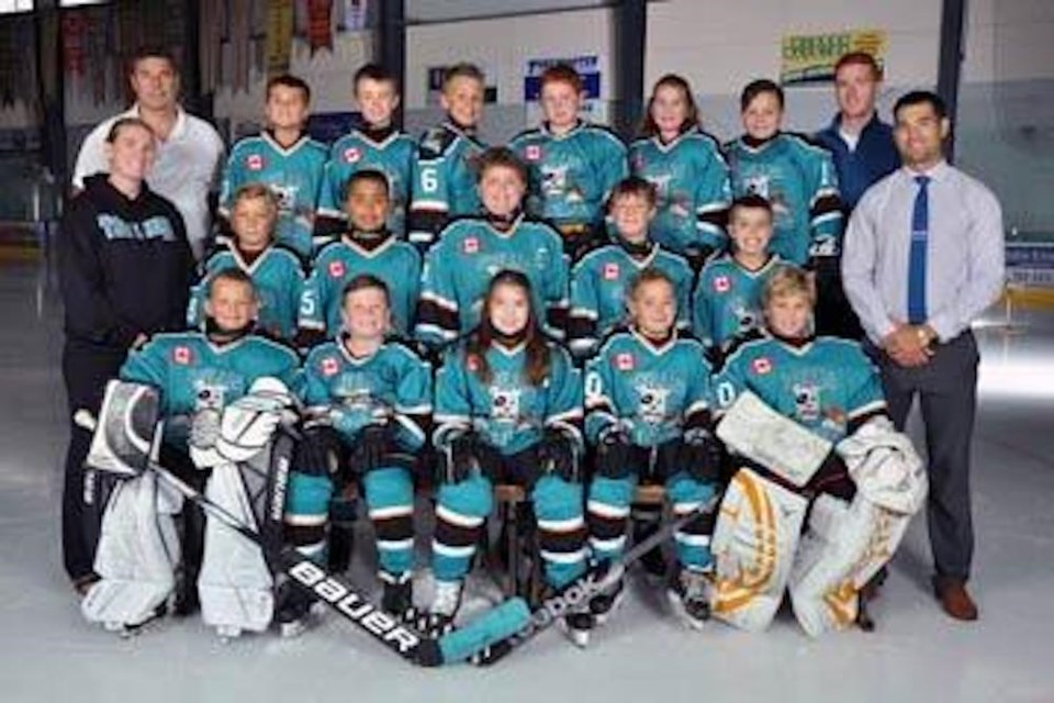 The 2017-18 Atom AE Terriers.