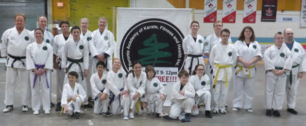 ymca karate team success