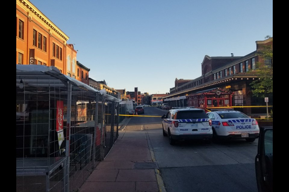 Byward market shooting june 7th / opsdaoust twitter
