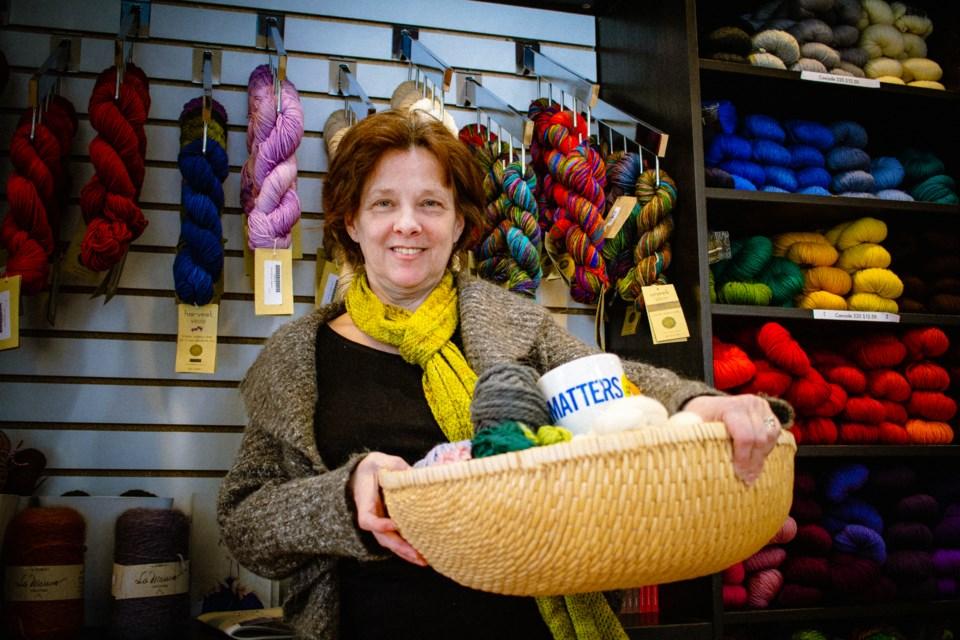 Judy Enright, the new owner of Wabi Sabi in Hintonburg