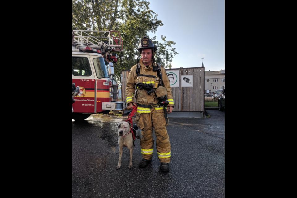 251 Donald Street fire / Scott Stilborn (@OFSFirePhoto)