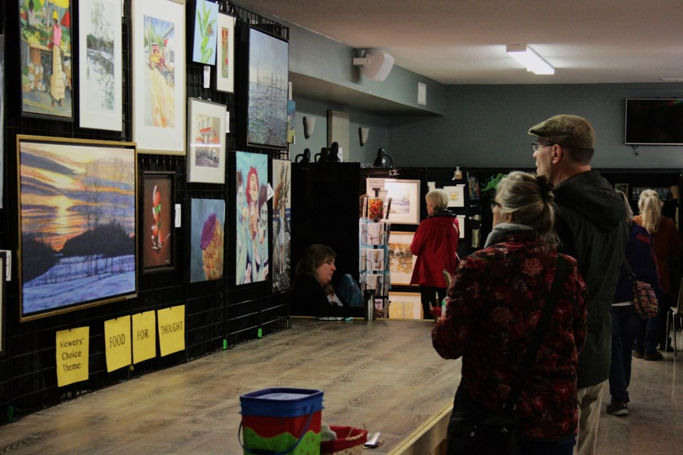 Expressions of Art is an annual art show hosted by the West Carleton Arts Society. The event was held at the Carp Agricultural Hall and took place from Oct. 5 to Oct. 7, 2018. Connor Fraser/ OttawaMatters.com