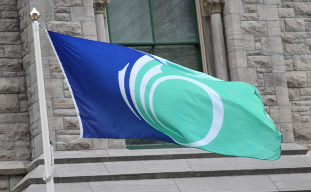 2018-02-28 City of Ottawa flag1 MV