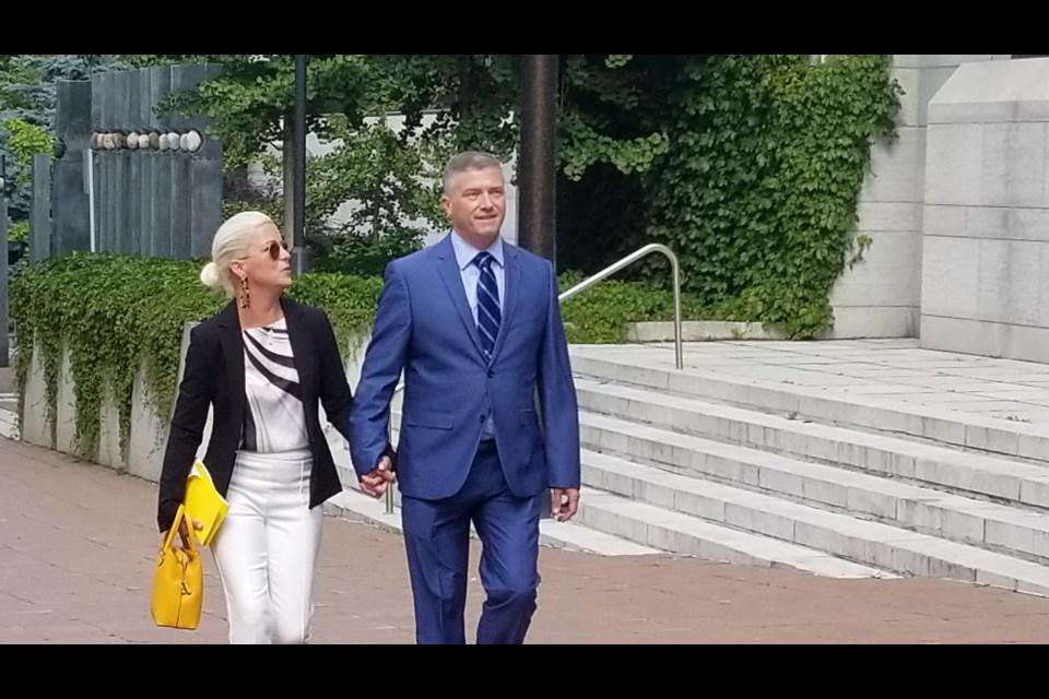 Beacon Hill-Cyrville City Councillor Tim Tierney walks near the Elgin Street courthouse, September 11, 2019. Jenn Pritchard/ OttawaMatters.com