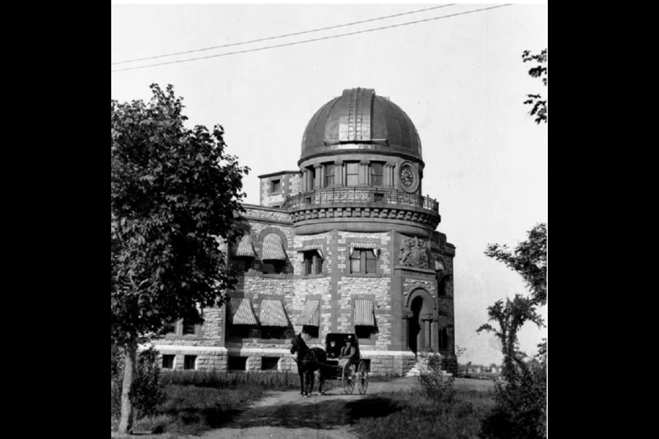 The Dominion Observatory, circa 1905, Canada Department of Mines & Resources, Library and Archives Canada,  PA-034064.