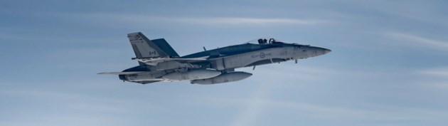 2018-07-11 CF-18 Hornet jet