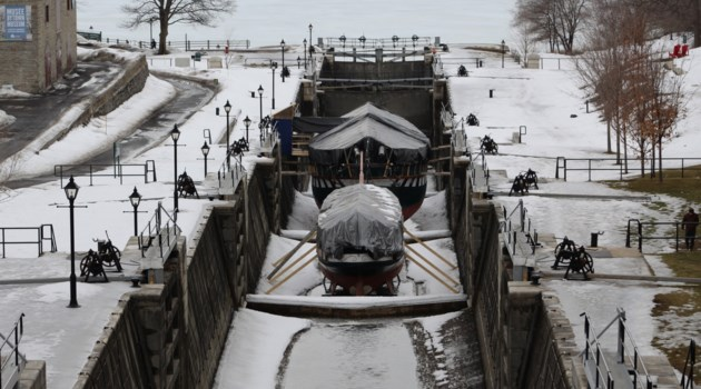 USED 2018-02-28 Rideau Canal locks winter1 MV