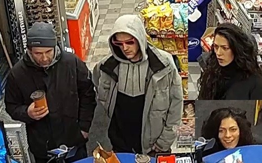 Suspects in a robbery on Montreal Road, January 4, 2019. Photo/ Ottawa Police Service