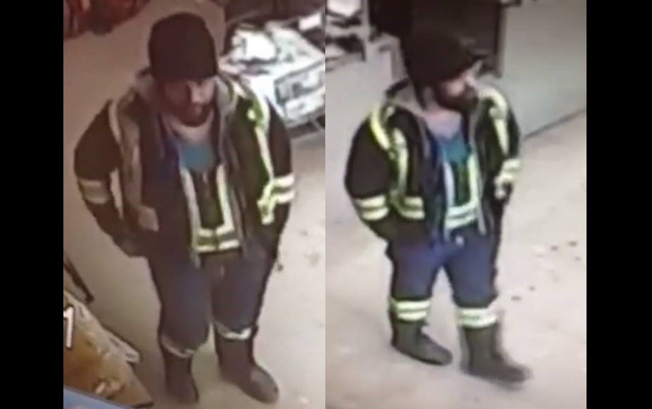 Person of interest in Hawkesbury vehicle theft. Photo/ OPP