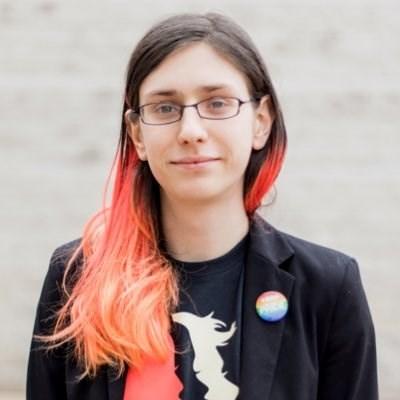 Ontario NDP Candidate for Ottawa-Vanier Lyra Evans. Photo/ Lyra Evans on Twitter