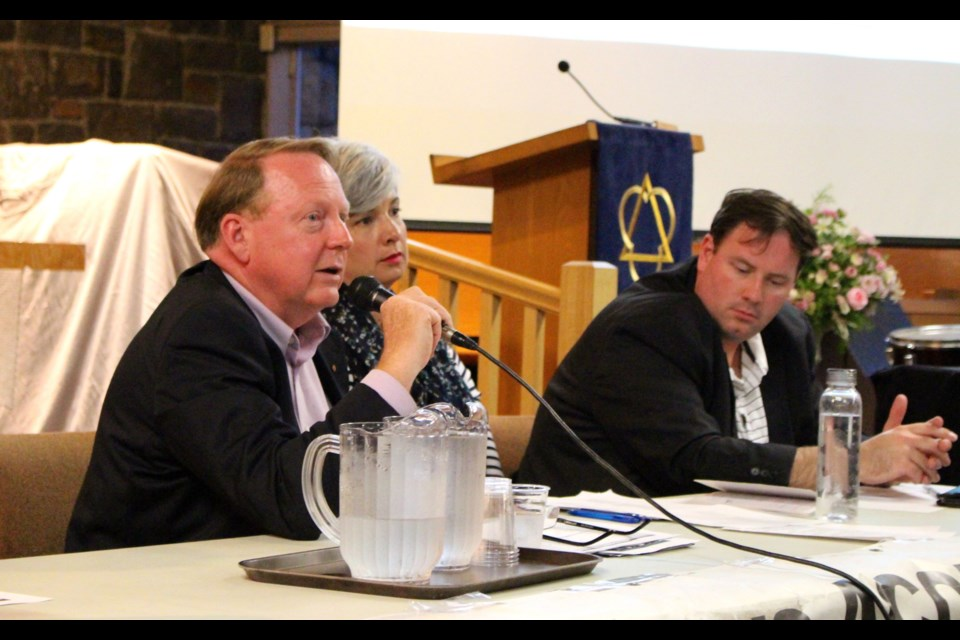 The Bay Ward debate was hosted by ACORN Ottawa and featured candidates Trevor Robinson, Theresa Kavanagh, Don Dransfield and Erica Dath.