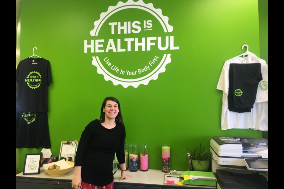 Cheryl Mason, Owner and operator of 'This is Healthful,' pictured at the Kanata clinic. (Andrew Pinsent/OttawaMatters.com)