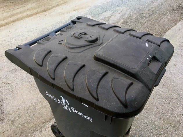 Bear resistant garbage bins