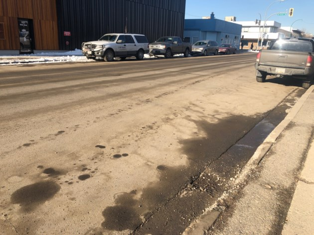 Prince George is under an air quality advisory because of dusty roads