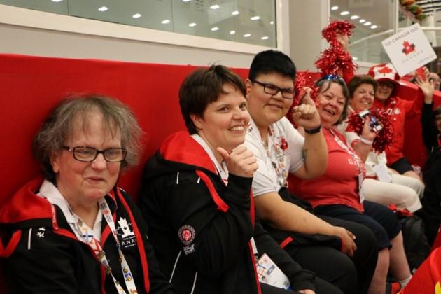 PG special olympics Linda Renner Canada