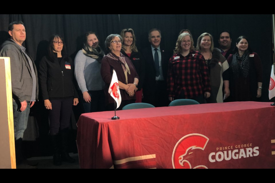 Prince George Cougars are donating the March 2019 Mega 50/50 Jackpot to 10 organizations within the United Way of Northern BC (via Kyle Balzer)