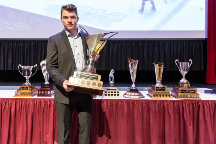 Josh Maser is the 2019 Prince George Cougars Team MVP (via Prince George Cougars)