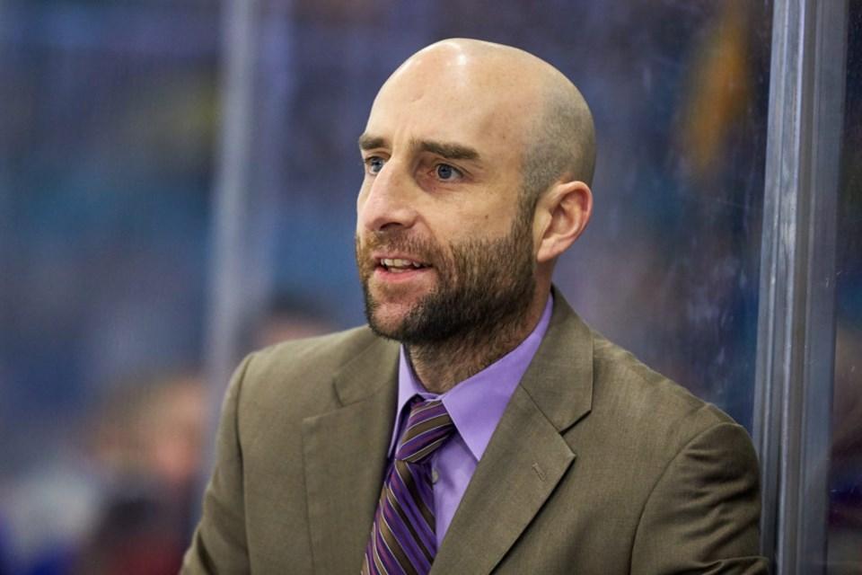 Saskatoon Blades Head Coach Mitch Love is from Quesnel, B.C. south of Prince George (via Saskatoon Blades)