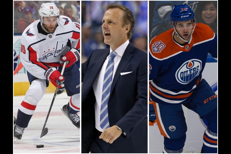 [From left to right] Brett Connolly, Jon Cooper, and Brandon Manning are all in the NHL representing Prince George (via NHL/Kyle Balzer)