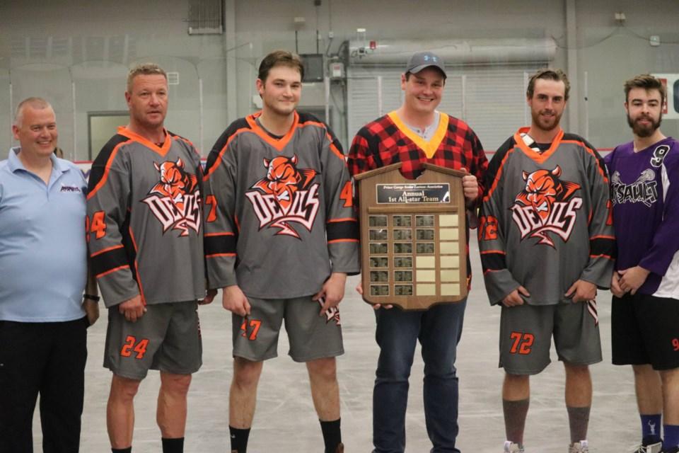 The 2019 Prince George Senior Lacrosse First-Team All-Stars (via Kyle Balzer)