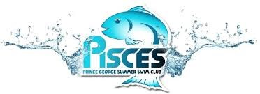 Prince George Pisces swimming logo