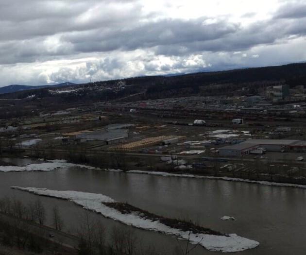 Nechako River cutbanks