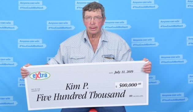Kin Peck - Lotto Max winner Fort St. John