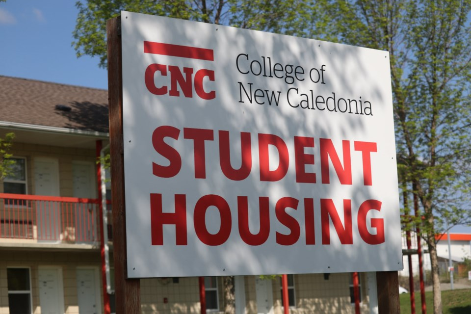 Student housing on the College of New Caledonia's Prince George campus (via Kyle Balzer)
