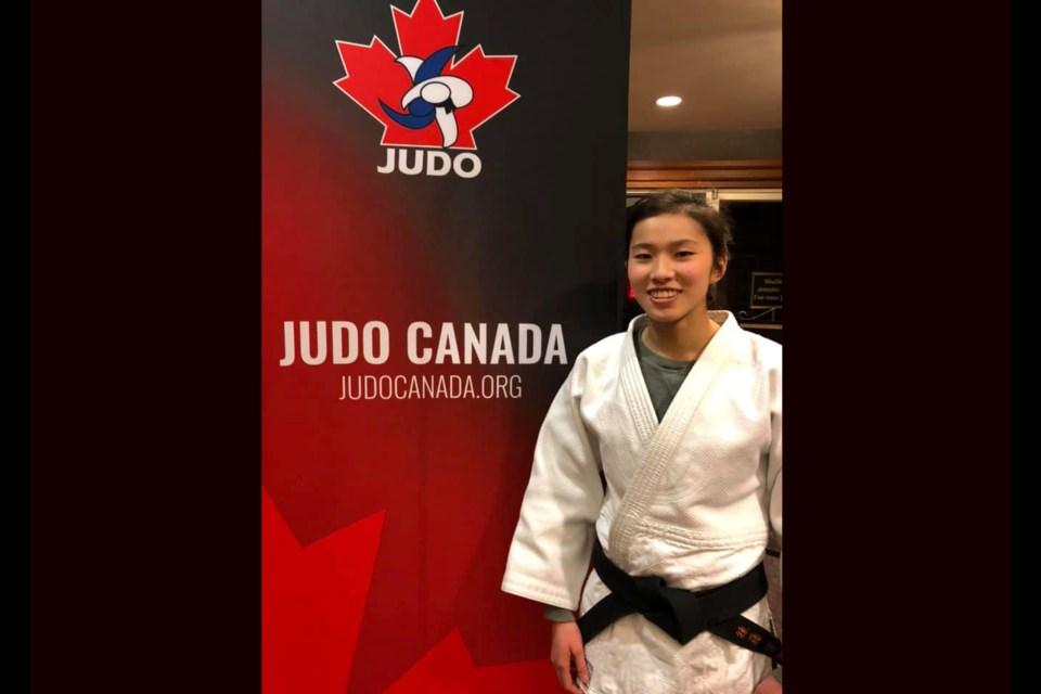 Tami Goto is a judo athlete from Prince George (via Facebook/Prince George Judo Club)