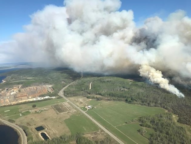 Western Canadian province declares wildfire emergency