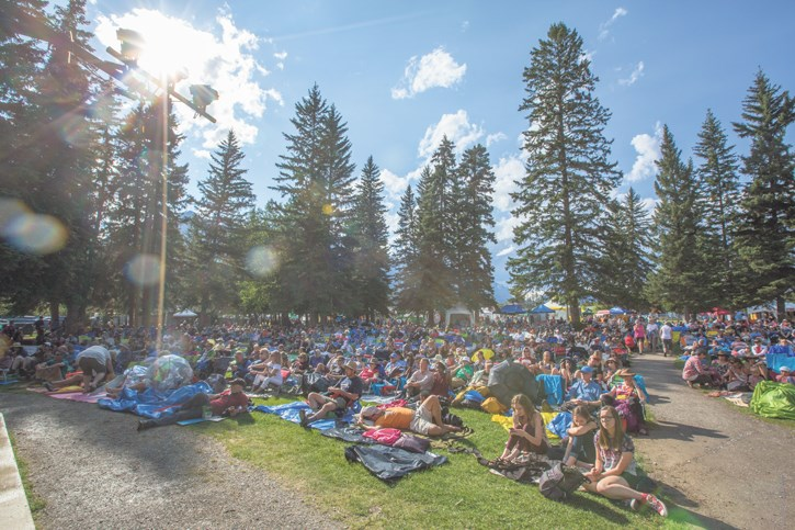 Canmore Folk Fest at Centennial Park in Canmore will start off the weekend as local singer-songwriters take the stage alongside, Michael Bernard Fitzgerald for the Friday (Aug. 2) community concert. RMO FILE