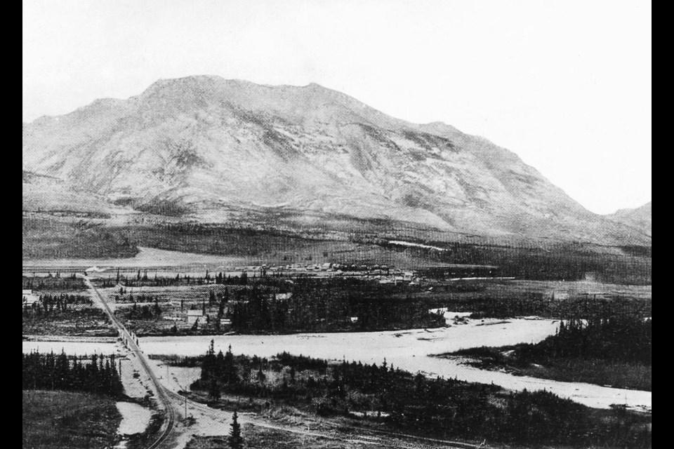 Canmore circa 1900.