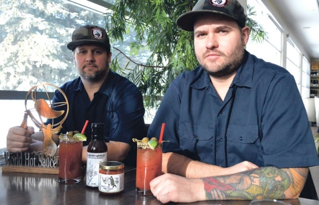 Bow Valley BBQ owner Jamie Ayles, right, and operations manager Chris Dean.