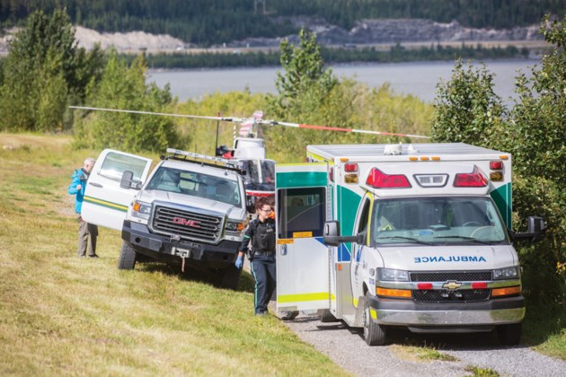 Lac Des Arcs Helicopter Rescue