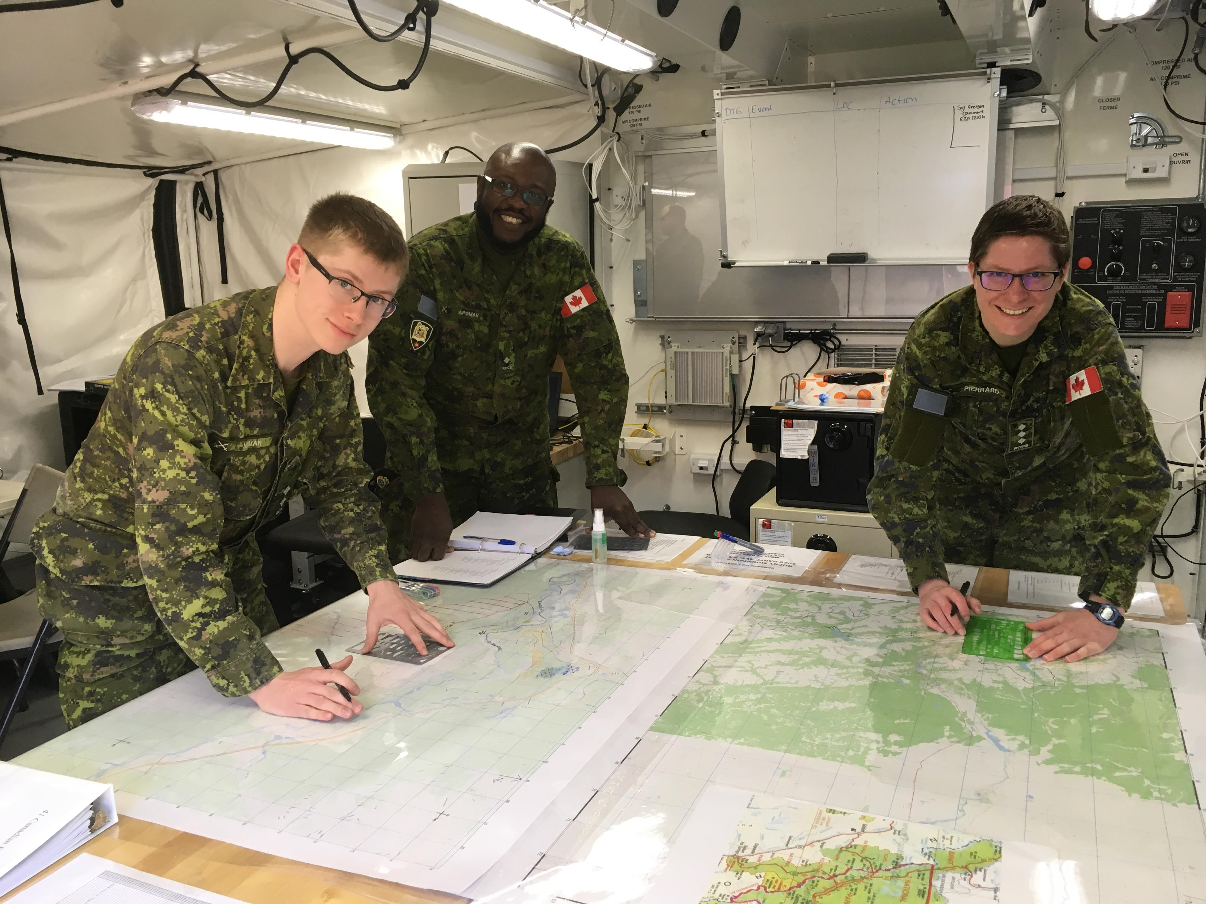 Canadian army in Banff for wildfire response and readiness exercises