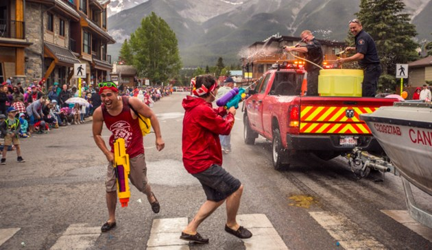 Canmore Canada Day Parade