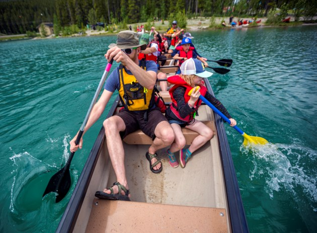 OLC Big Boat Canoeing