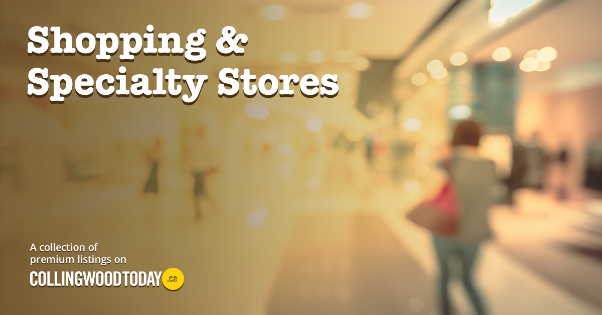 Shopping and Specialty Stores