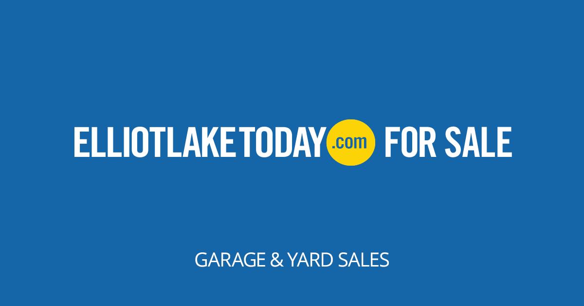 Elliot lake garage and yard sales for Furniture yard sale near me