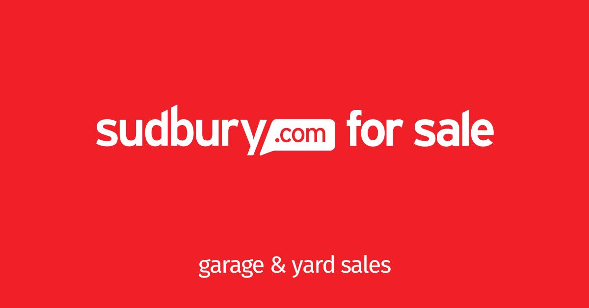 Sudbury Garage and Yard Sales - Sudbury com
