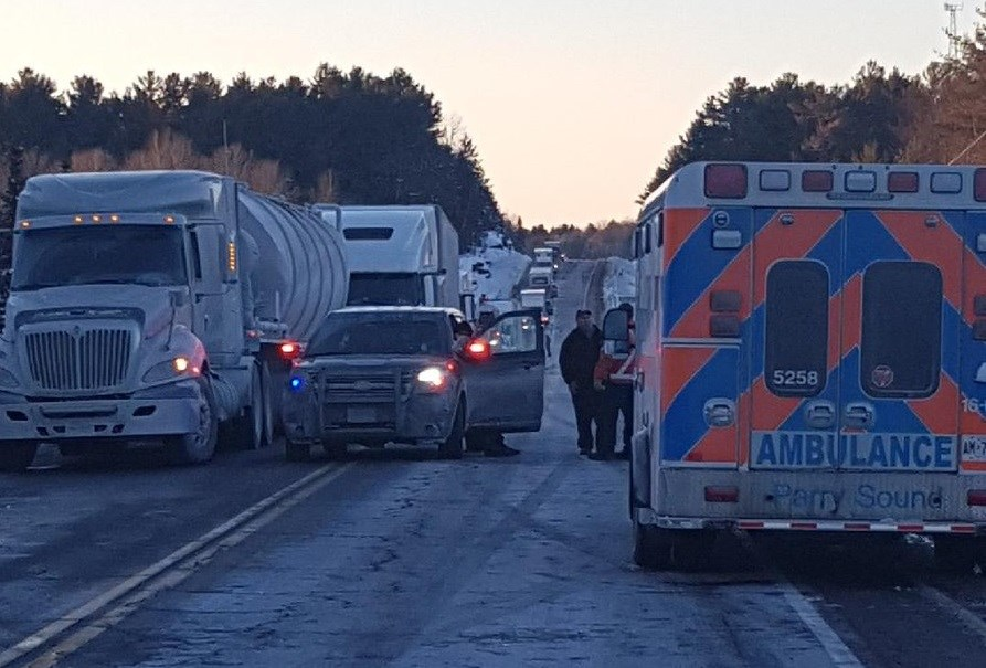 'Multiple' people killed in crash involving tractor trailer near Parry Sound