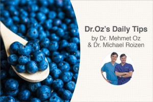 <b>Dr. Oz's Daily Tips:</b> Park it