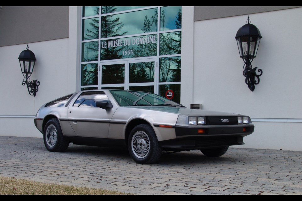 DeLorean DMC-12 Credit Alain Morin